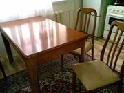 Кухонный стол и 4 стула б/у